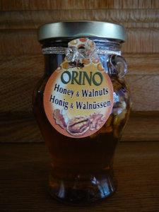 Tijm-kruiden Honing met walnoten 250 gram