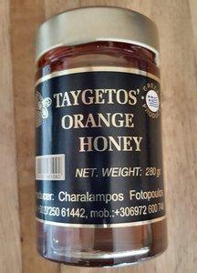 Griekse Sinaasappel Honing 280 gram.